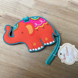 "Baby Gift Delivery NZ - New Arrival Fast Delivery Wedding Favor ""Lucky Elephant"" Luggage Tag Airline Luggage Creative Gifts Baby Shower Wholesale"