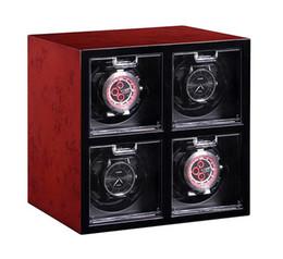 Discount emblem sports - Watch winder box vintage valentine 4 watches rotate storage rotate silent emblem femme watches display case casket cabin