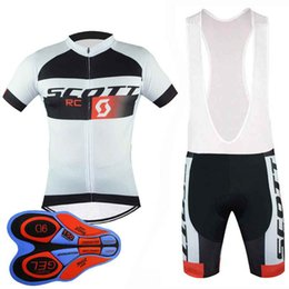 $enCountryForm.capitalKeyWord Australia - Scott team Cycling Short Sleeves jersey (bib) shorts sets MTB bike Maillot ropa Ciclismo men Cycle Clothing 92826J