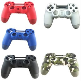 Ps4 shell housing online shopping - Front Back Hard Plastic Upper Housing Shell Case Cover For Playstation Pro PS4 Pro Dualshock Pro Controller JDS JDM