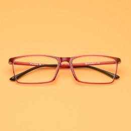 c51b3c15b4ad8 Nova Moda Macia Do Vintage Óculos de Armação Mulheres Homens Óculos de  Armação Quadrada Ultra-light Óculos TR90 Óculos de Armação