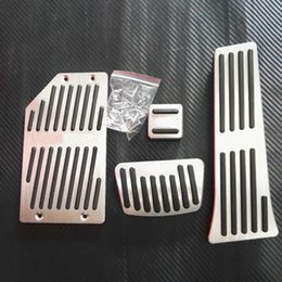 $enCountryForm.capitalKeyWord Australia - TTCR-II Gas Brake Accelerator Pedal Sticker Cover Accessories For Hyundai Sonata New Tucson 2015 2016 2017 AT