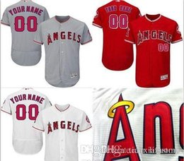 Discount customized youth baseball jerseys - CUSTOM Ls As Angels Mens Women Youth Customized Majestic Stitched Baseball Jerseys Personal name Person number SIZE S-XX