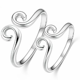 $enCountryForm.capitalKeyWord NZ - 925 sterling silver ring, tight-fitting sculpting, stylish silverware, meaning love you for 10,000 years, simple and stylish, good-looking