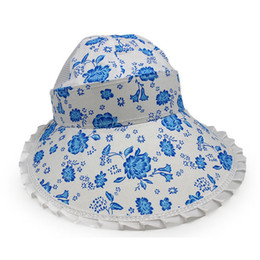 be38b3ef02e49 1pcs UV Sun Hat Summer Sun Hats For Women Straw Hat Girls Beach Cap Visors  Caps Sunshade Multipurpose Foral Foldable Floppy