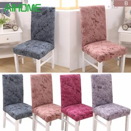 $enCountryForm.capitalKeyWord NZ - 1 Piece Fit Soft Stretch Cotton Chair Covers For Wedding Hotel Office Kitchen Chair Short Dining Chair Cover