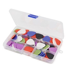 Chinese  100Pcs Multi-Color Anti-Skid Electric Acoustic Guitar Plectrums Plectra Pick 2mm manufacturers