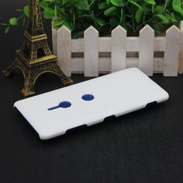 3d sublimation plastic online shopping - For Sony Xperia L2 XZ3 XZ2 XA2 XA2 ULTRA DIY D Blank sublimation Case cover Full Area Printed