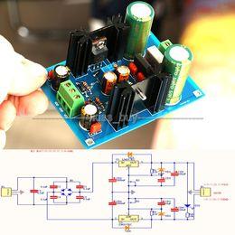 Бесплатная доставка LM317 LM337 регулируемая фильтрация питания AC / DC 5 в 12 в 24 В регулятор напряжения БП комплекты на Распродаже