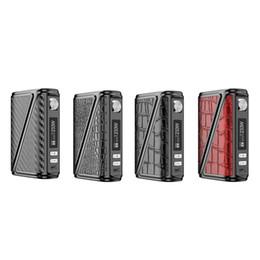China Electronic Cigarette Mods Original Rofvape Warlock Z-BOX 233w Box Mod Vape Leather Design Big Power Temperature Control cheap rofvape box mod suppliers