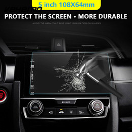 Gps Hd Australia - 2018 Car DVD Protective Films Clear GPS Screen Protector HD Sticker  Skins Mp5 Tempered Glass Dustproof