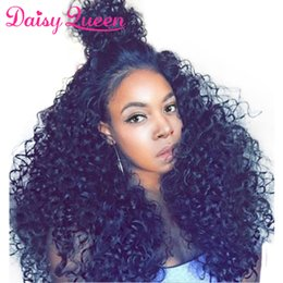 Virgin Brazilian Human Hair Wigs Australia - Lace Frontal Wig Pre Plucked With Baby Hair Deep Wave Lace Front Human Hair Wigs For Women Unprocessed 8A Brazilian Virgin Remy Wigs