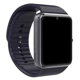 New Watch Touch Screen Australia - Sport Bluetooth Smart Watch Men GT08 With Touch Screen Big Battery Sim Card Camera For IOS iPhone Android Phone