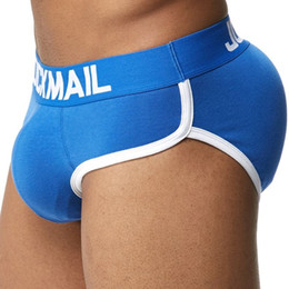 8aa40890f20 Underwear enhance bUlge online shopping - Jockmail Brand Enhancing Mens  Underwear Briefs Sexy Bulge Gay Pad