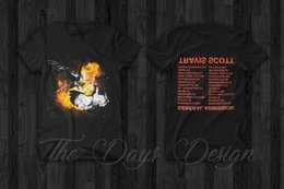 Funny birds online shopping - Travis Scott Birds in the Trap Sing McKnight Astroworld Merch T Shirt Rodeo Rap custom printed tshirt hip hop funny Gift Print T shirt Hip