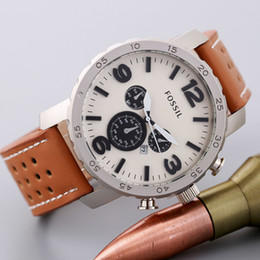 Vente de luxe en cuir de haute qualité montres hommes top marque mode entreprise montre robe montres hommes De luxe atmos horloge mâle en Solde