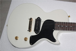 Guitar White NZ - free shipping China Custom Guitar High Quality Musical Instrument electric guitar Junior Reissue white color 1117