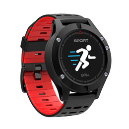 $enCountryForm.capitalKeyWord Canada - wholesale F5 GPS Smart watch Altimeter Barometer Thermometer Bluetooth 4.2 Smartwatch Wearable devices for iOS Android