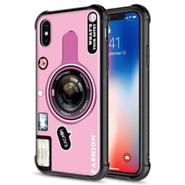 case protection iphone 5s NZ - For iPhone Xs Max Xr Case 6 6s 7 8 Plus 5 5s 5 se Shockproof Protection Case 2 in 1 Hybrid Combo Armor Mobile Phone Cover Case