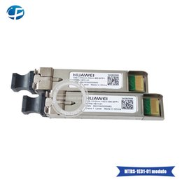 Fiber Optic Equipments Cellphones & Telecommunications 10pcs Hottest Original Hua Wei 10g 1310nm 1.4km Sm Sfp Module Single-mode Fiber Optic Module Hot Sele