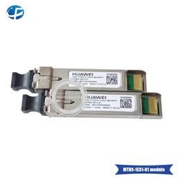 Discount bx - Original 10pcs lot Huawei 10G SFP Transceiver Module SFP-10G-LR 10GBASE-BX Single-mode 10KM Optic Fiber Module