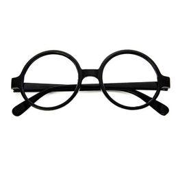 c4576cacc8539 Vintage Unisex transparente de plástico Vintage Ronda Gafas de lectura de  marco de estilo retro Gafas Clear Lens Ojo Marcos de gafas