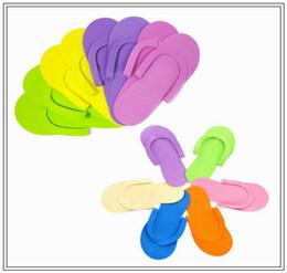 60cdfdf2e Deslizador de espuma flip flop desechable para pedicura Foot Spas pedicura Flip  Flop herramientas colores aleatorios DDA120