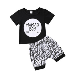 Chinese  Newborn Infant Baby Boy Clothing Toddler Cotton T-shirt Tops Short Sleeve Shorts Cotton Casual Cute Outfit Clothes Boy 0-24M manufacturers