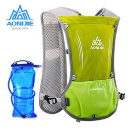 online shopping AONIJIE Running Bag Unisex Sport Bag Reflective Vest Sport Water Bottle Backpack for Running Cycling with L Hydration Bladder