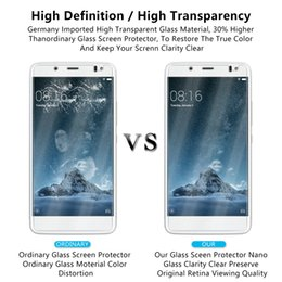 $enCountryForm.capitalKeyWord NZ - For BQ Aquaris X5 Tempered Glass Film 9H Hardness 2.5D High Guality Screen Protector Anti-glare Coating To Protect Your Cellphone