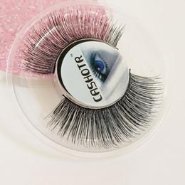 Make Hair Soft NZ - False Lashes Reusable Make Up Eyelashes Human Hair Eye LashesFake Lashes Soft Natural Long Eye Lashes Extension Professional Makeup