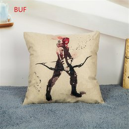 $enCountryForm.capitalKeyWord NZ - Digitally Printed Movie Character Pillow Cover Cushion Case Home Decorective Pillow Cover Office Case 45*45cm