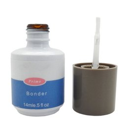 Bond Coating Australia - 1PCS Bonder UV gel polish varnish led Nail Non acid Primer 0.5oz 14ML salon Acrylic lasting bond odorless Binders Base Coat 14ML