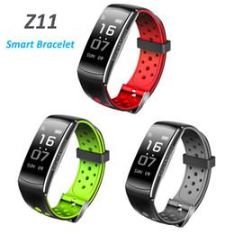 $enCountryForm.capitalKeyWord Australia - Z11 IP68 Waterproof Smartband Watch Blood Pressure Heart Rate Monitor Smart Bracelet Fitness Tracker Bluetooth Wristband Q8 updated
