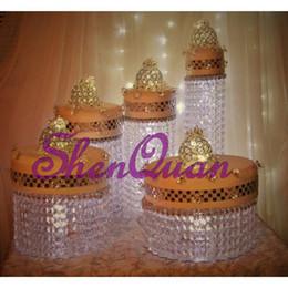 акриловая подставка для торта и украшение свадебного стола,высококачественная акриловая подставка для свадебного торта для 5 разных размеров