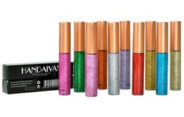 $enCountryForm.capitalKeyWord UK - HANDAIYAN Brand Glitter Liquid Eyeliner Pen 10 Colors Metallic Shine Eye Shadow & Liner Combination Pencil Eyes Makeup