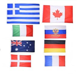 0a5a5487b5bf 90 150cm 3 5ft No.4 flag polyester banner USA polyester Canada America Flag  Dollar Euro flag World Cup fans promotion gifts