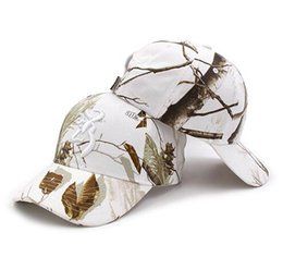 a53baef42a7 Free Shipping Hot Sale New Browning Winter Realtree AP Snow Camo Caps  Fishing Hunting Cap Hat Men s Outdoor Hunting Camouflage Snapbacks