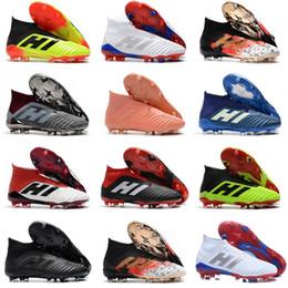 $enCountryForm.capitalKeyWord Australia - 2018 New Predator 18+ Predator 18.1 FG PP Paul Pogba soccer 18+x cleats Slip-On football boots mens high top soccer shoes cheap