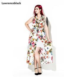 56ca599578de Lawrenceblack plus size Oversized woman sexy dresses Ladies Sleeveless  dress Spaghetti Strap Robe Loose Vestido Maxi dress W62