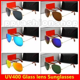 Glasses Sun Protection Australia - HOT Summer Goggle Man UV400 Protection Sun Glasses Fashion Men Women Vintage Round Frame Glass Sunglasses 6 Colors Free Shipping