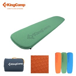 Wholesale KingCamp Ultralight Inflatable Sleeping Pad Camping Tent Single Mat Damp proof Camping Mat for Outdoor Hiking Fishing Backpacker