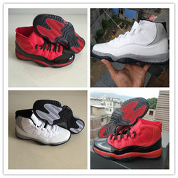 efc9d75bc91a6 2018 New Arrive White Ash Point Red Jumpman 11 XI Basketball Shoes Original  Quality Cheap 11s Men s Sports Sneakers SIZE 40-47