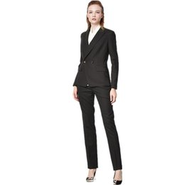 2b4042fdaa93 New fashion trend women's suit two-piece women's business office formal  professional suit two-piece suit (jacket + pants)