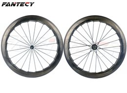 Wheels front carbon clincher online shopping - NSW C mm depth road bike mm width clincher dimple surface carbon wheels with Novatec271 wavy crow s feet wheelset