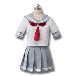 Anime japonês amor ao vivo sol cosplay Takami Chika meninas Sailor Uniformes amor ao vivo Aqours uniformes escolares venda por atacado