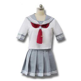 Großhandel Japanische Anime Love Live Sunshine Cosplay Takami Chika Mädchen Sailor Uniformen Love Live Aqours Schuluniformen