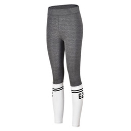 Yoga Pants Sales UK - Hot Sale Sexy Girl Yoga Pants Trousers Elastic Waist Polyester Women's Fashion Workout Leggings Sports Yoga Athletic Pants