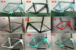 Venta al por mayor de Cuadro de carbono de 20 colores BIANCHI OLTRE XR4 cuadro de bicicleta de carretera de carbono T1000 UD completo de bicicleta de fibra de carbono