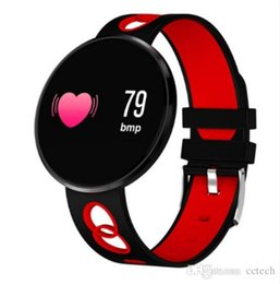 Apple Watch Lcd NZ - CF006H Smart Bracelet LCD Color Screen IP67 Waterproof Sports Pedometer Calories Fitness Tracker Heart Rate Monitor Watch PK X2